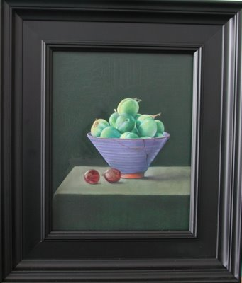 Green Prunes by Hanneke van Oosterhout