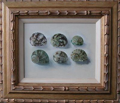 Green Snails by Hanneke van Oosterhout